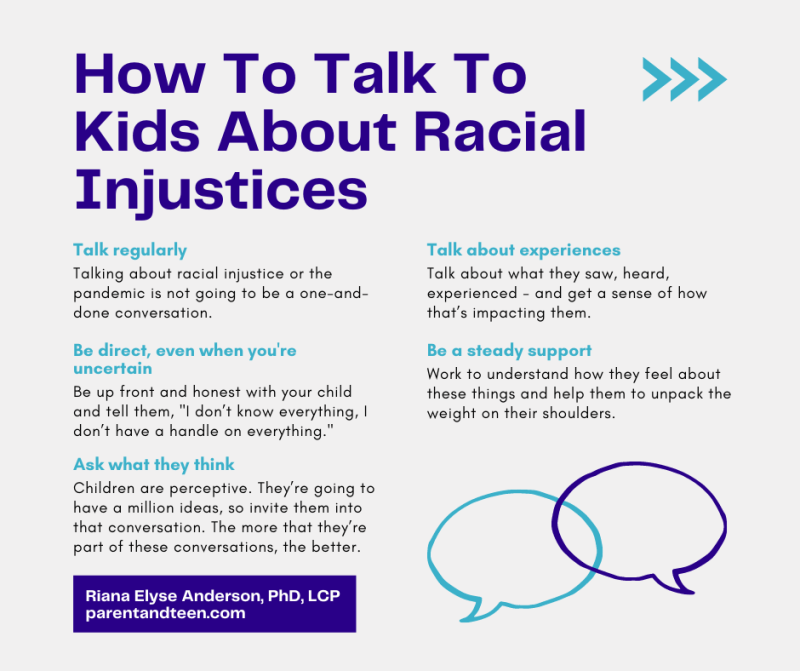 How To Talk To Your Teens About Racism