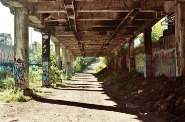 Abandoned subway