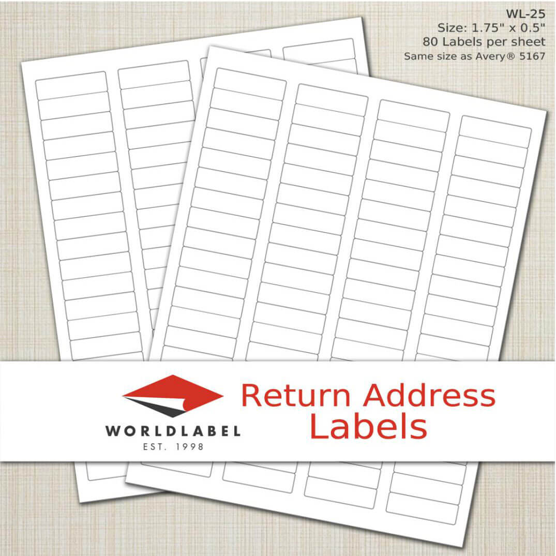 Address Return Labels 5195 Avery Printable