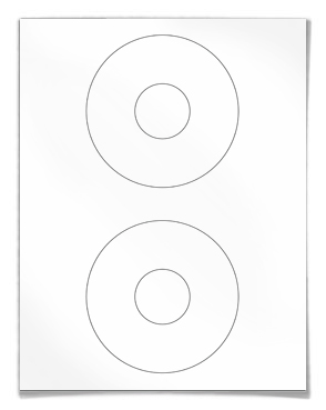 About Blank labels for CD / DVD Disk labeling