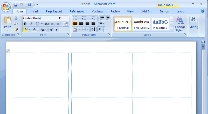 mail label template for microsoft word