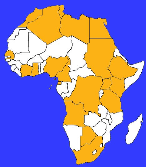 List of 20 Countries by Largest Economies in Africa