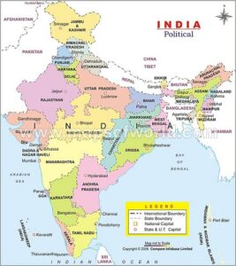 Indian States list by Largest to Smallest
