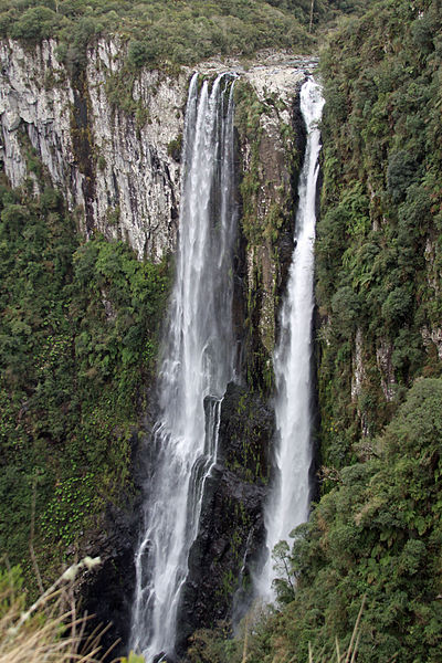 List of 10 Tallest Waterfalls in Brazil