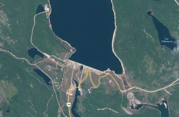 Largest Man-Made Dams in Canada