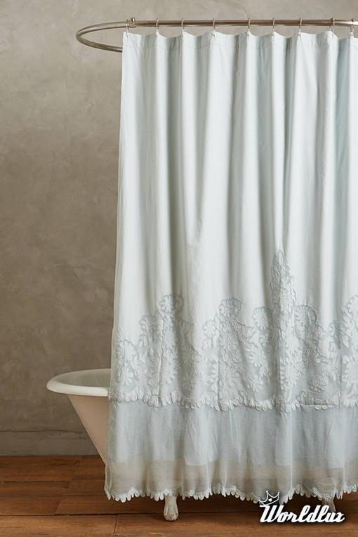 Eleganckie zasony prysznicowe