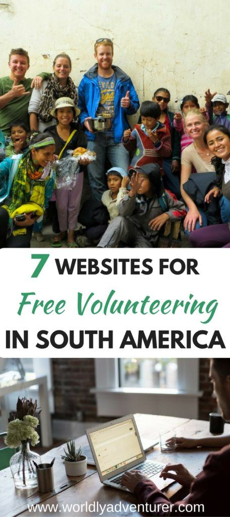 Finding volunteering positions in South America where you're not required to pay a hefty fee is difficult but not impossible. I've trawled the internet to find the seven best websites for free volunteering programs in South America.