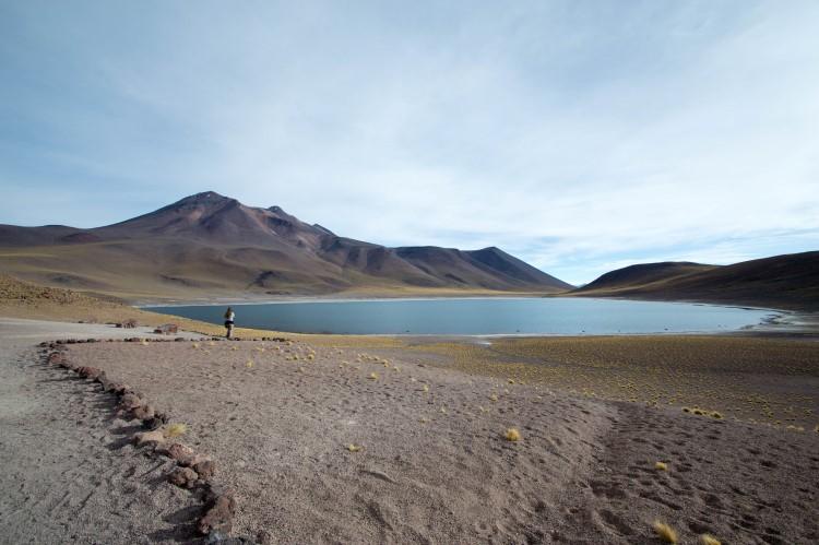 Laguna Miniques near San Pedro de Atacama and one of the things to do in Atacama Desert