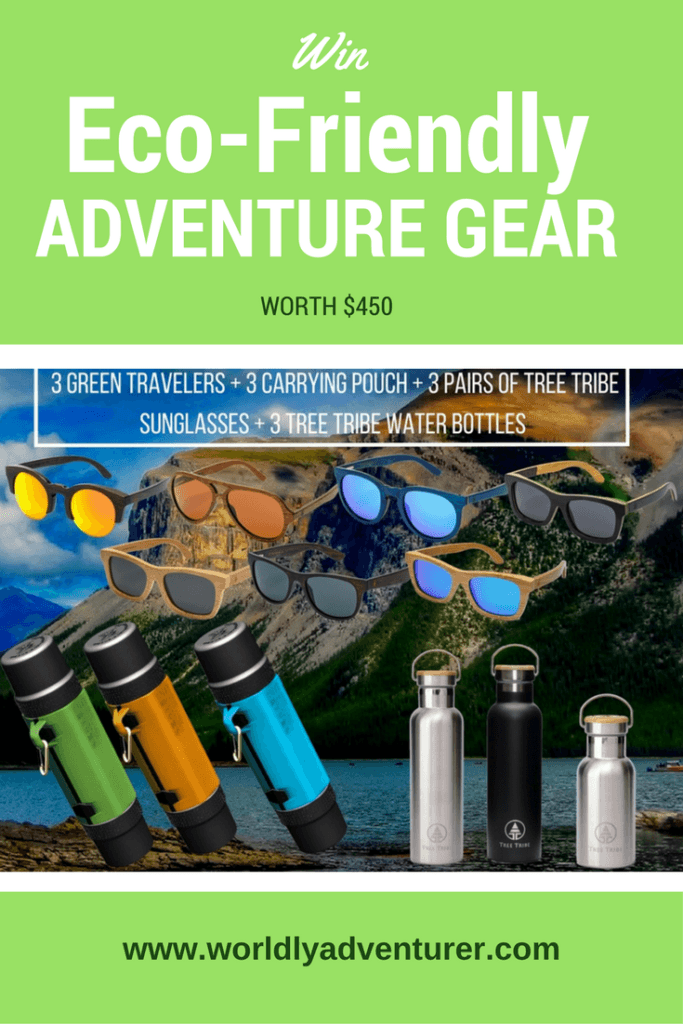 Get your hands on innovative eco-friendly adventure travel gear with this incredible giveaway (only available until midnight est Tuesday 23rd May) courtesy of ReddyYeti.