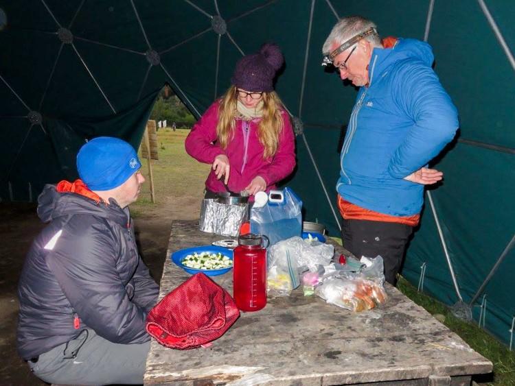 food hiking Torres del Paine National Park