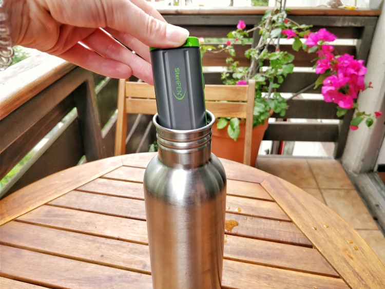 best backpacking water filter steripen review