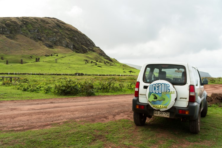 Visit Easter Island, Chile with a rental