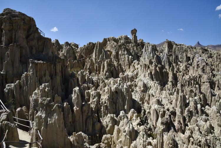 Valle de la Luna near La Paz: one of the Bolivia tourist attractions not to miss.