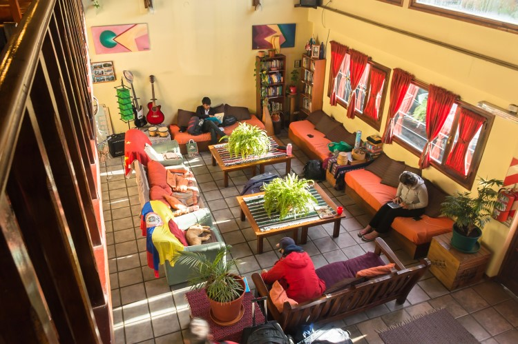 Hostel in Patagonia.