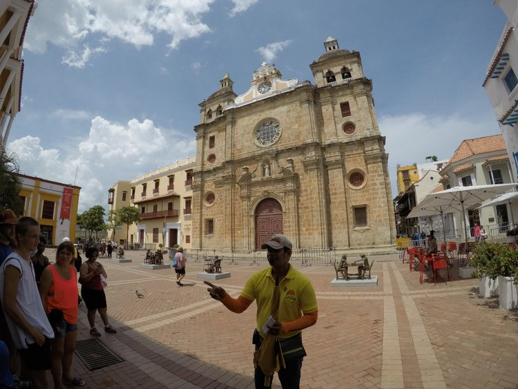 What to do in Cartagena? How about a free walking tour around the city.