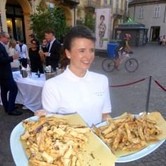 The truffle fries were so addictive!