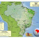 Brazil Worldmap Org