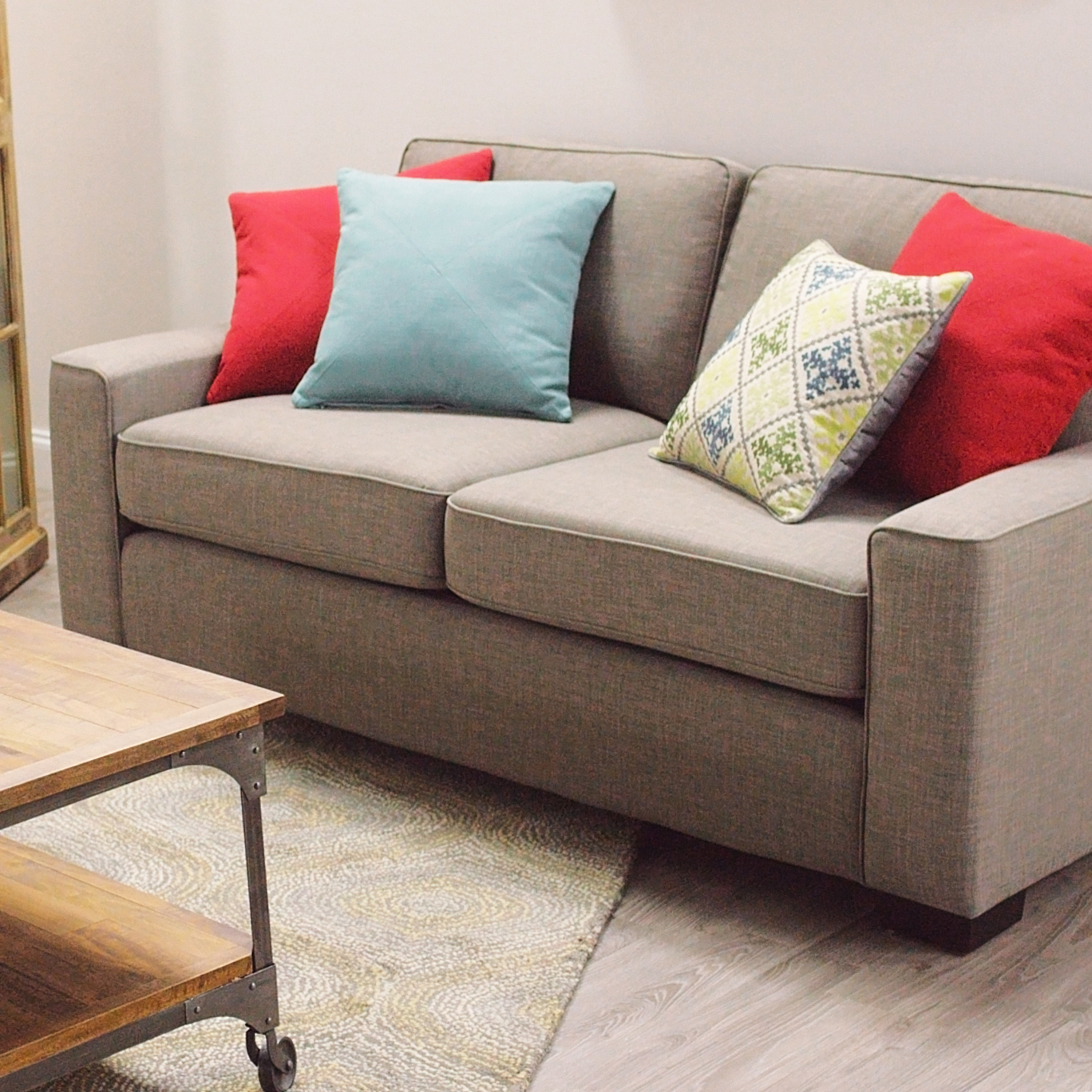 square sofa beds bed chairs uk pewter gray aylin arm world market
