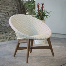 Weather Wicker Vernazza Outdoor Chairs Set Of 2