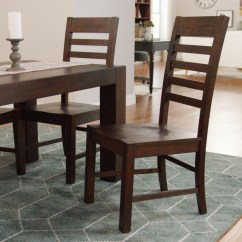 Distressed Dining Chairs High In Egypt Wood Donnovan Set Of 2 World Market