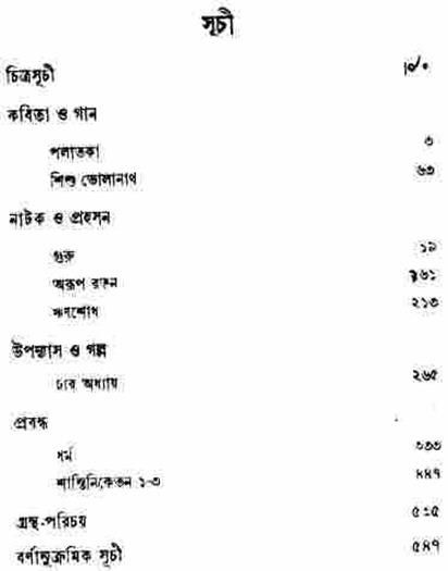 Rabindra Rachanabali programme