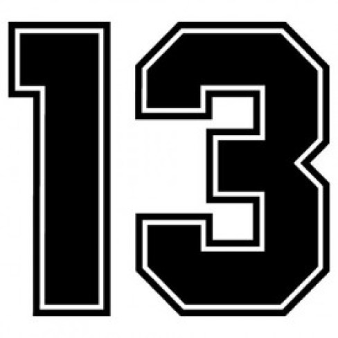 lucky number 13