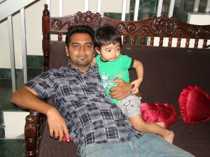 Today - My Husband and Son