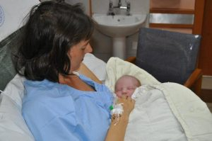 Mama Mzungu from Kenya with her baby