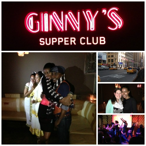 Maya Haille & Marcus Samuelson host the launch of the Three Goats Foundation at Ginny's Supper Club in Harlem, NYC on April 7th, 2013.