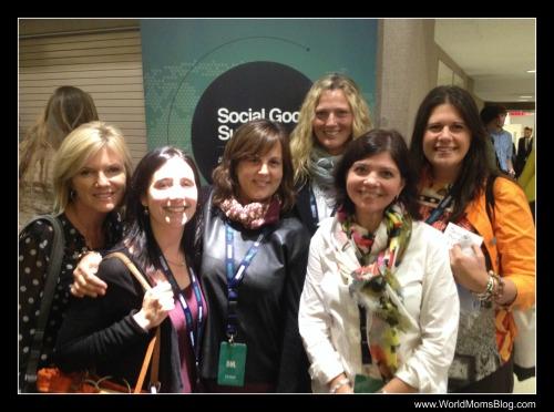 Nicole Morgan, Jennifer Barbour, Jeannine Harvey, Elizabeth Atalay, Kelly Pugliano and Jennifer Burden at the Social Good Summit September 24th, 2013 in NYC.