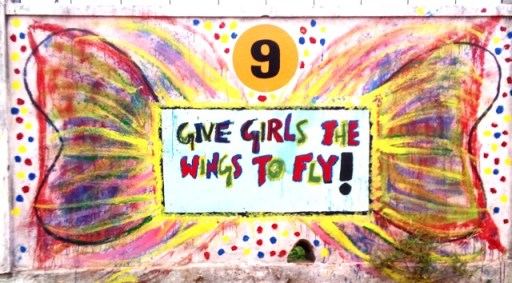 Give Girls The Wings To Fly