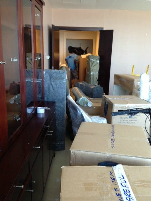 UNITED ARAB EMIRATES: Boxes, Bubble-wrap…and a New Perspective?