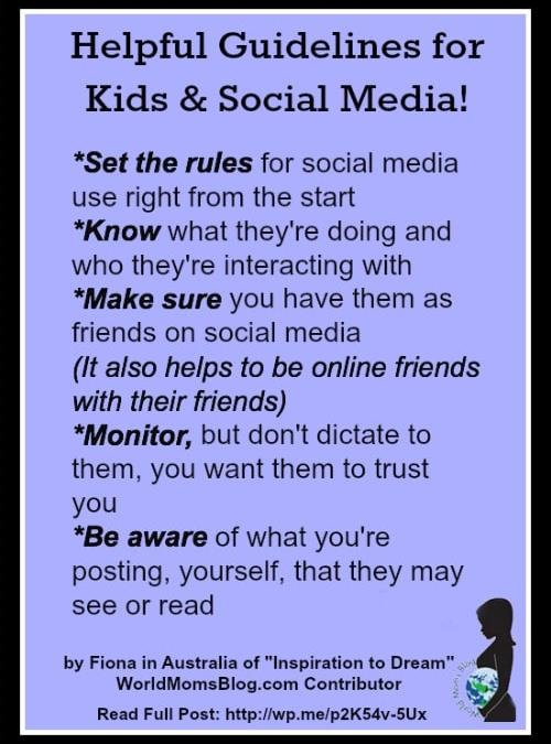AUSTRALIA:  Keeping Our Children Safe With Social Media