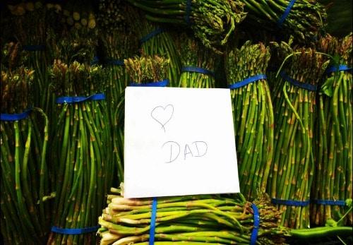 WASHINGTON, USA: Asparagus, Popsicles, and Other Inside Jokes