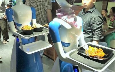 INDIA: Robots, Go the Food Way