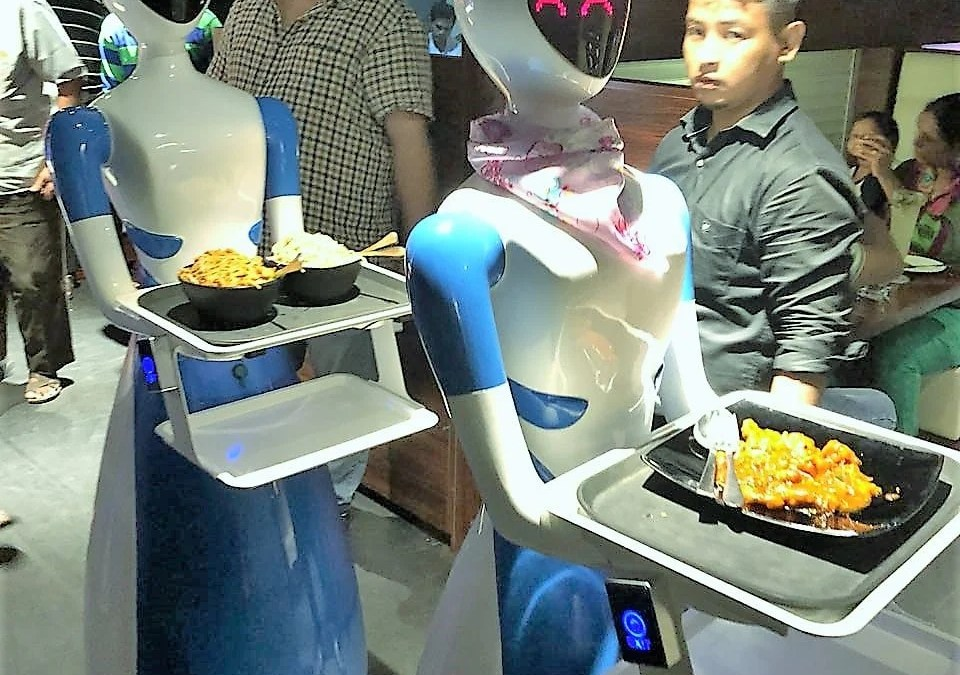 INDIA: Robots, Go the Food Way