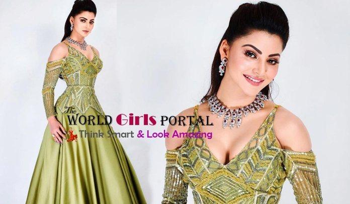 Today Live News of Urvashi Rautela - She Uploaded Video in Instagram is 'Ek Diamond Da Haar Lede Yaar' 2020 | #UMANG2020