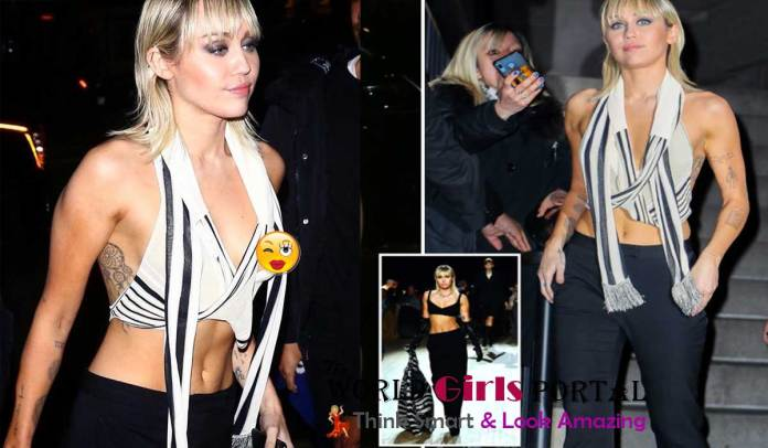 Miley Cyrus shares photos of her wardrobe malfunction   Live Hollywood News