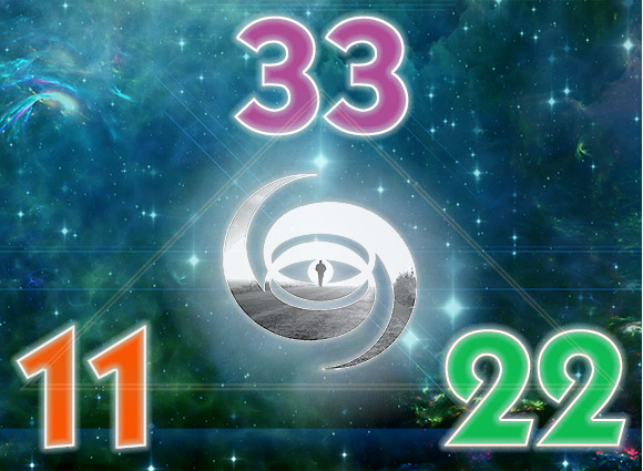 In numerology, 11, 22, and 33, are considered the Master Numbers