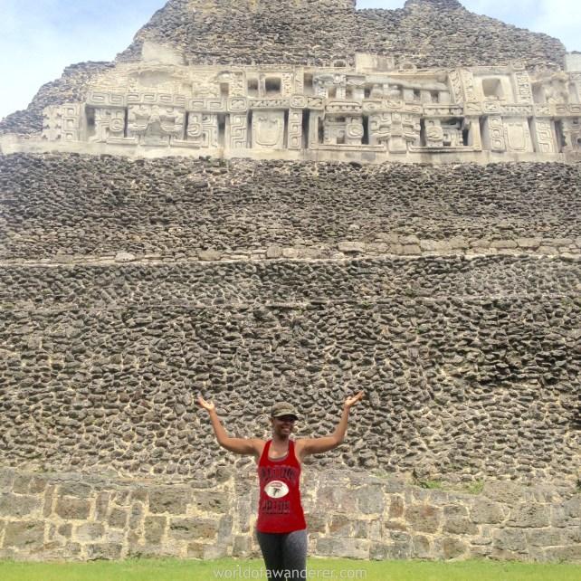 Xunantunich Maya Ruin Belize worldofawanderer.com