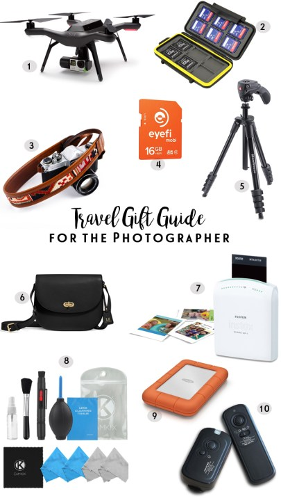 World of A Wanderer's Travel Gift Guide for the Photographer