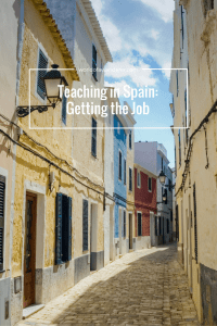Teaching in Spain: Getting the Job