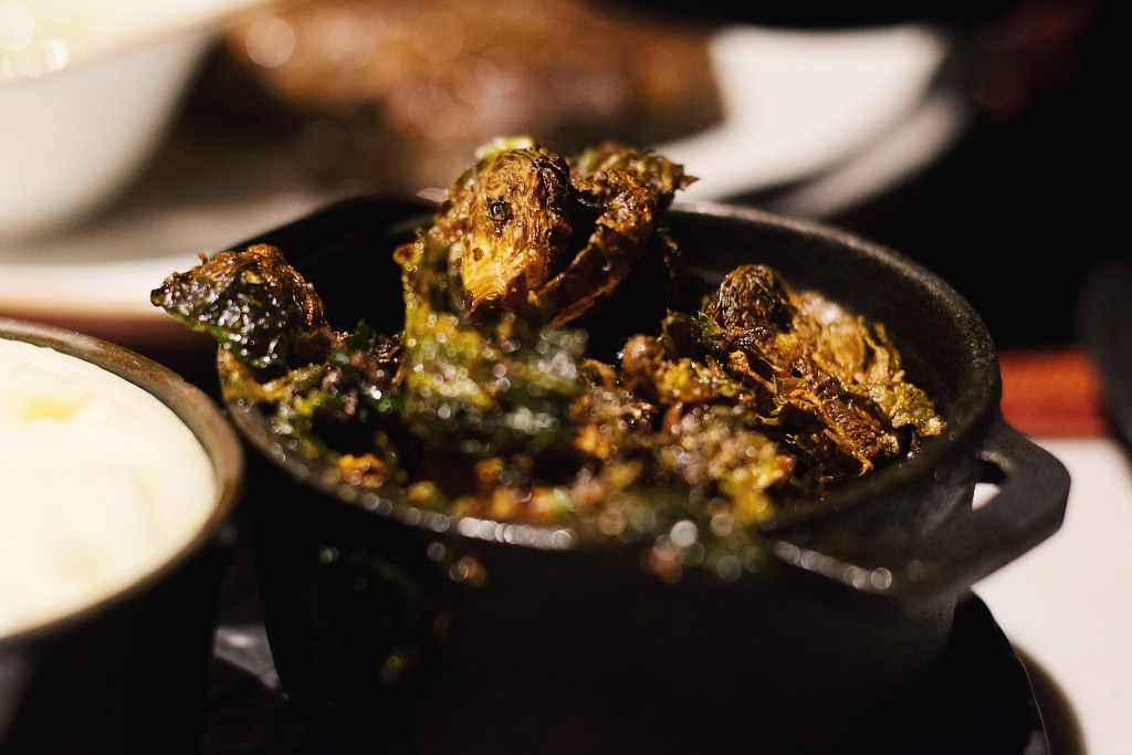 4 Reasons Why AG Restaurant at the Ritz Carlton, Atlanta Should be on Your Faves List- Roasted Brussels Sprouts