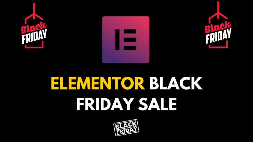 Elementor Black Friday and Cyber Monday Sale