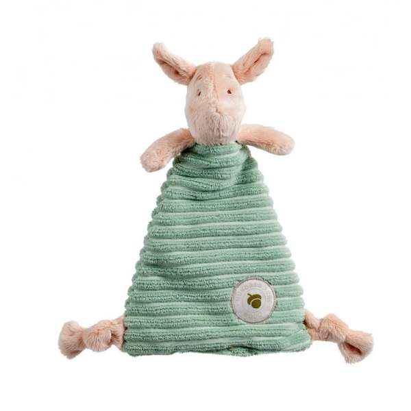 Rainbow 1476 Classic Piglet Comforter With Organza Pull