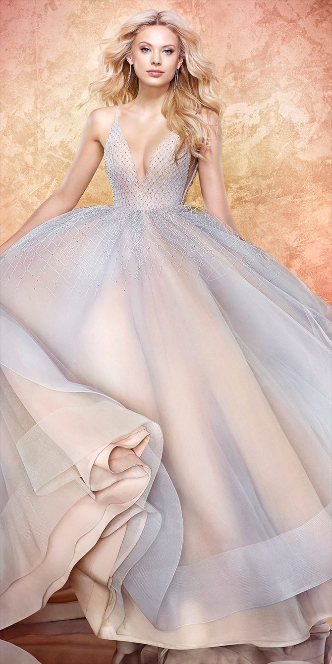Hayley Paige Spring 2017 Twilight tulle bridal ball gown