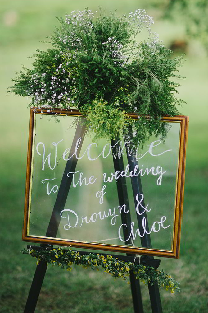 26 Cute And Clever Wedding Signs Ideas Thats Perfect Fits