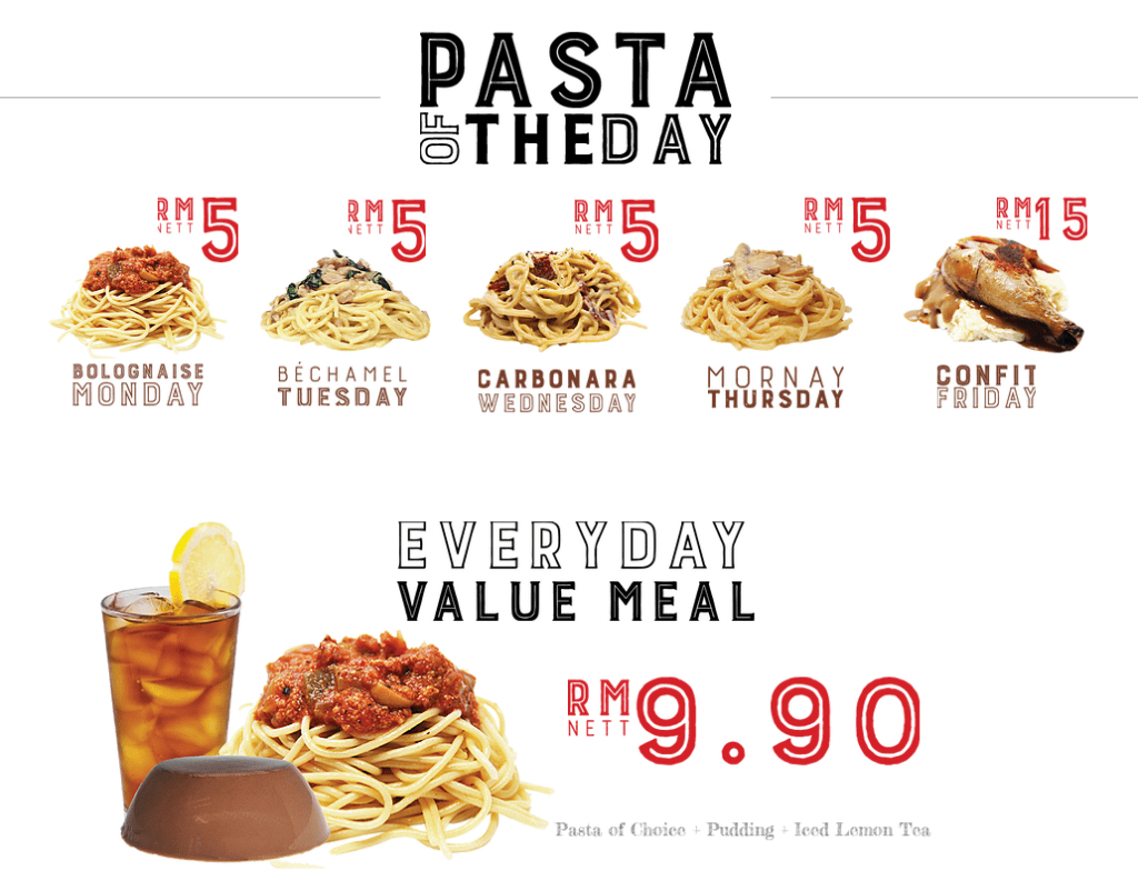 Malaysians Can Get Pasta Under RM15 at These Restaurants! - WORLD OF BUZZ