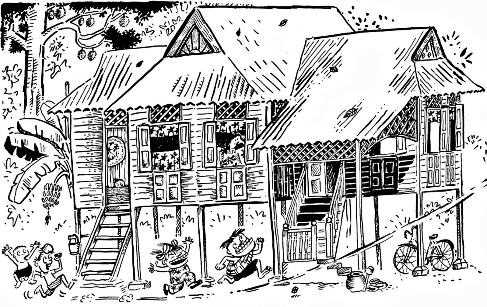 Famous Msian Cartoonist Lats Kampung Boy is Being Made