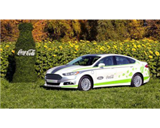 Ford lines cars with Coke's plastic bottle material